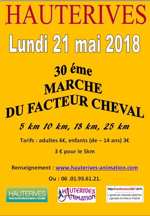 Marche du facteur Cheval