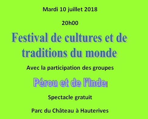 festival  international cultures et tradition du monde