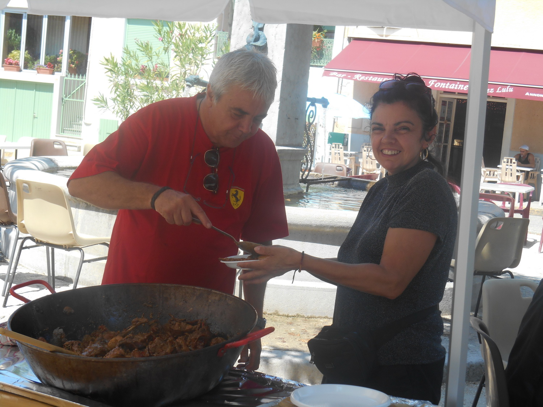 Merci à Jean louis Irlés de Bourg de péage pour le repas des bénévoles le jeudi midi