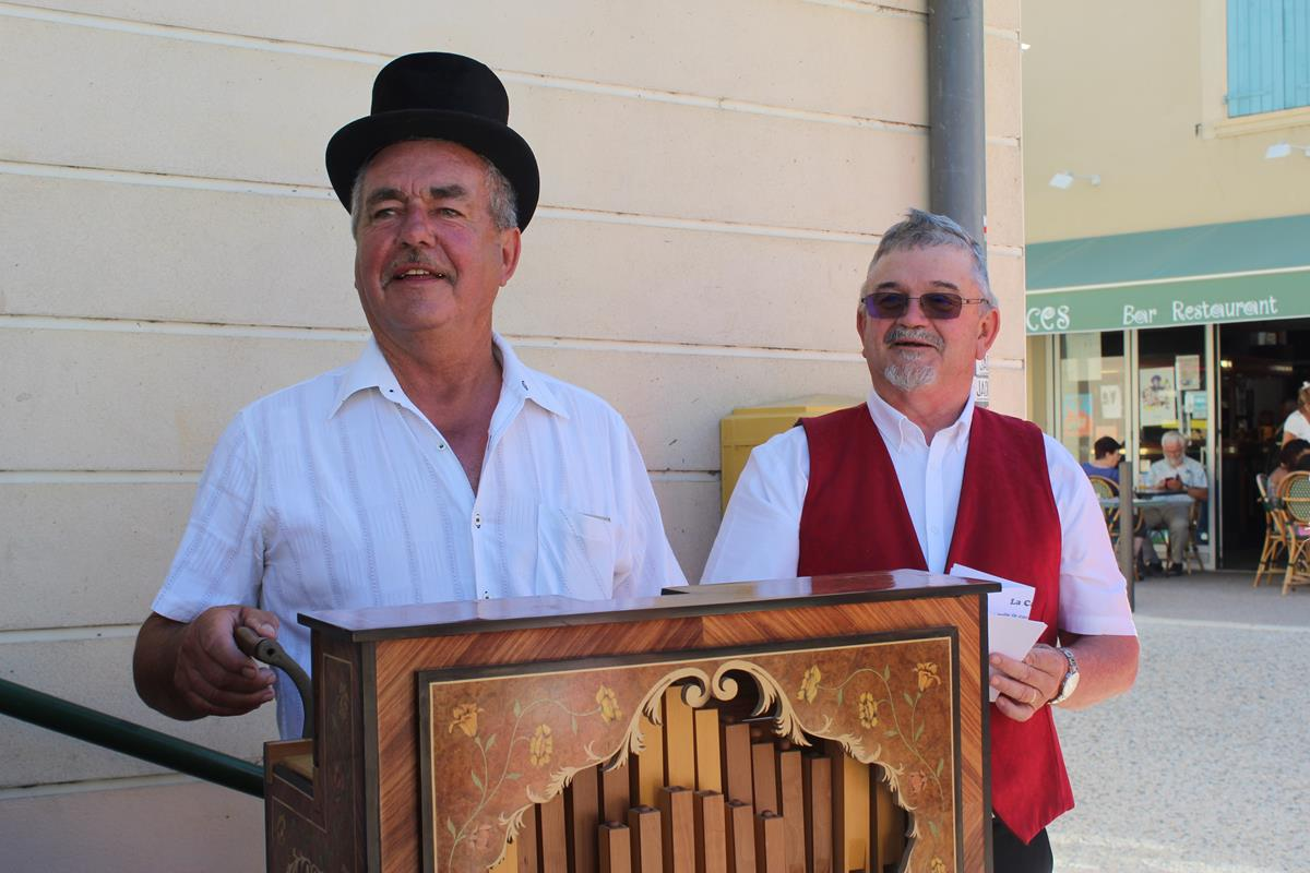 André le joueur d'orgue