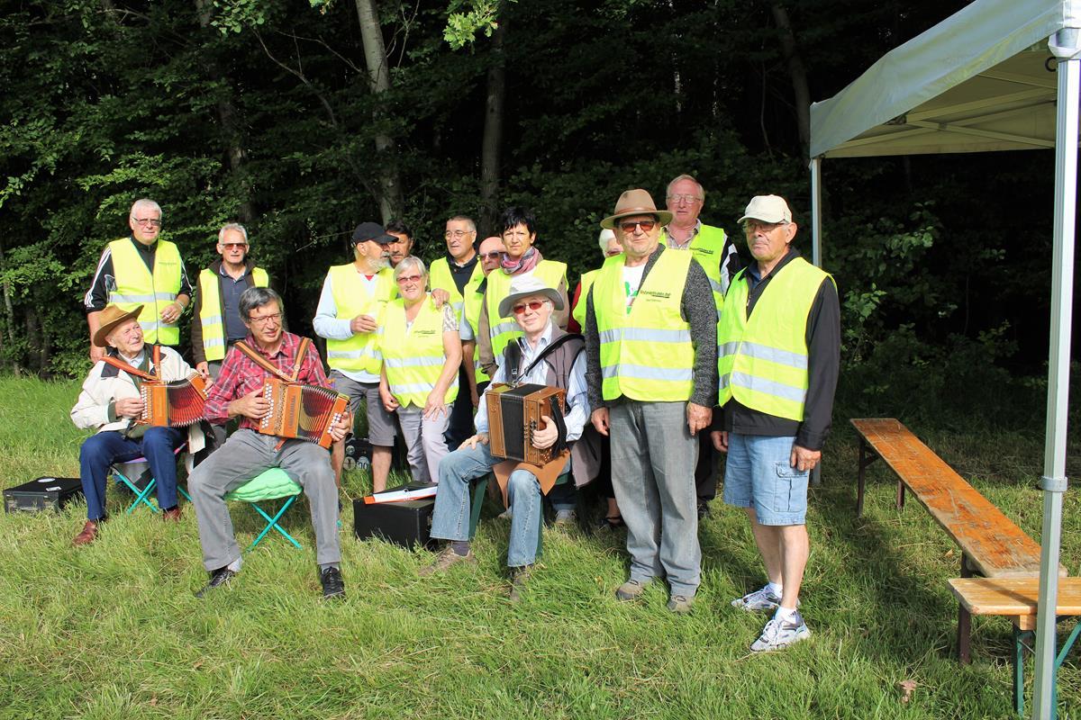 le groupe des bénévoles