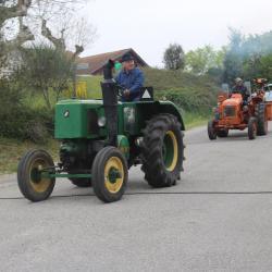 les tracteurs arrivent