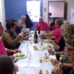 dimanche midi repas des bénévoles