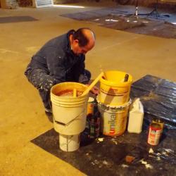 avant de peindre la prière