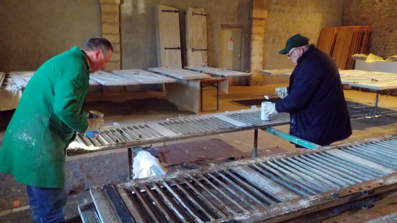 atelier rénovation ponçage
