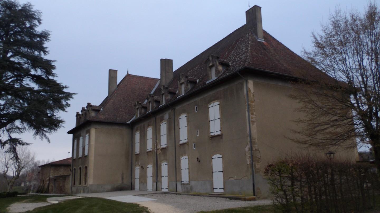 le chateau côté nord