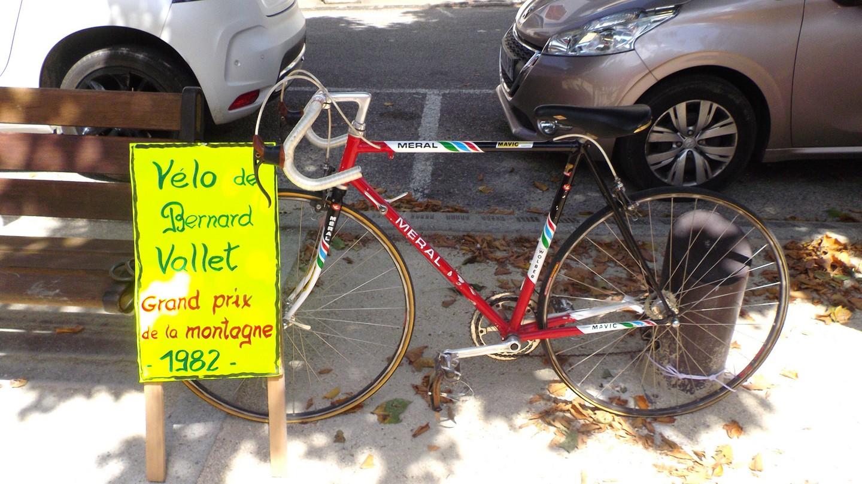 le vélo de Bernard Vallet (époque 1982   )