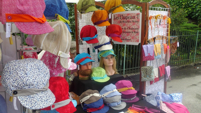 des casquettes