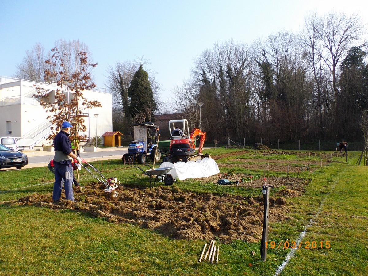 Cr ation d 39 all e de promenade des jardins pour tous mars 2015 - Trouver le proprietaire d une parcelle ...