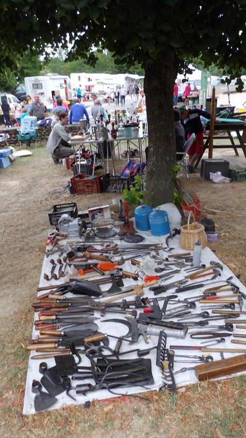 le stand de Maryse : les différents outils