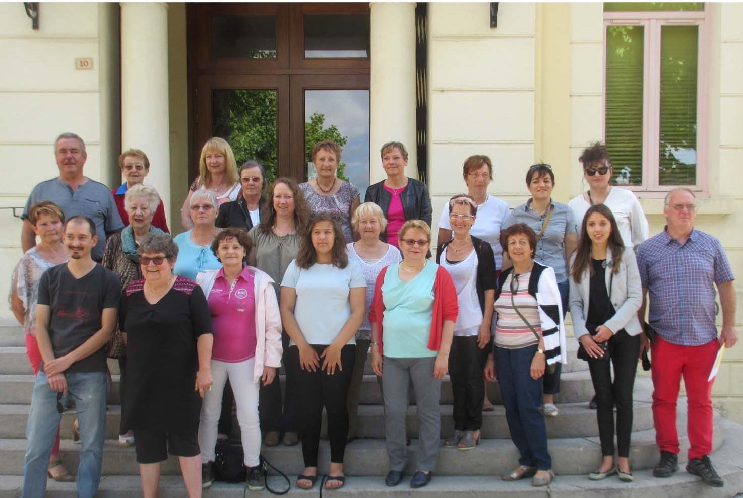 Tous les participants au concours 5 juin 2016