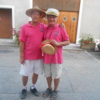 ils sont beaux avec leurs chapeaux...