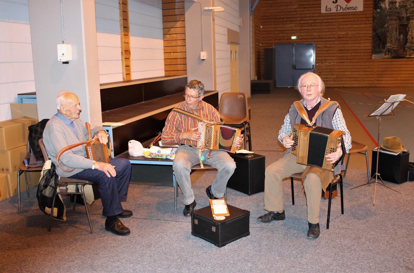 les musiciens accordéonistes