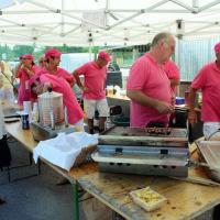 les flamands roses s'activent - Patrick cuisine