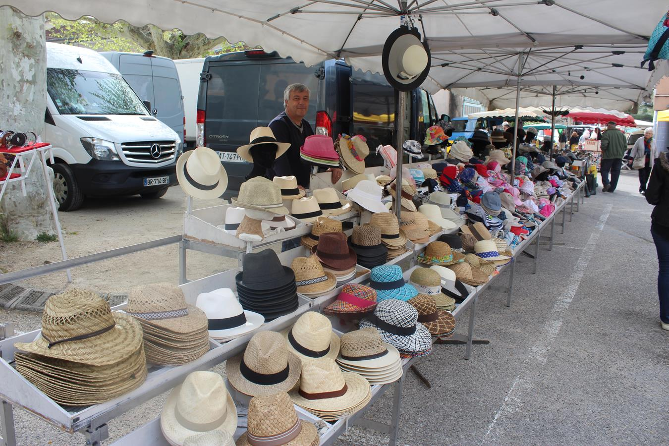 les chapeaux