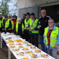 le groupe des bénévoles de St GERMAIN