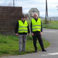 sur le terrain : un grand merci aux bénévoles de la sécurité routière