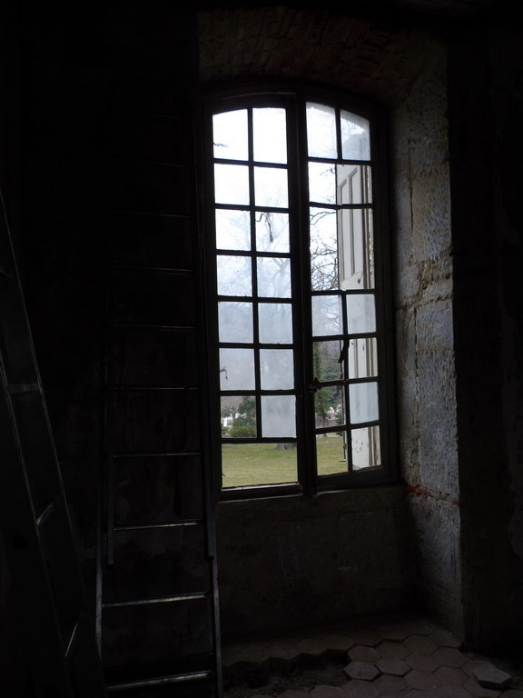 fenêtre à réparer, verres à remplacer