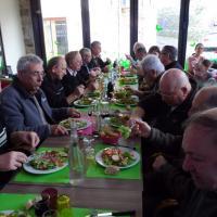 repas offert en remerciement du travail accompli par les bénévoles