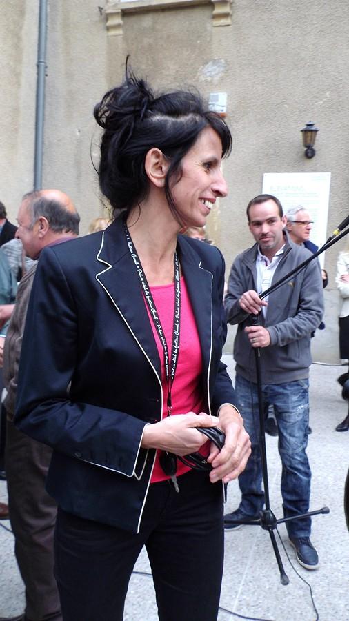 la directrice du Palais Marie José Georges