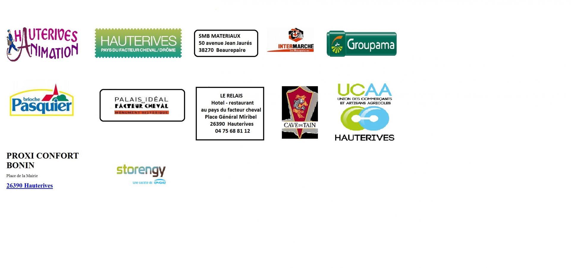 Logos des sponsors 1
